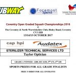 Coventry Open 2017