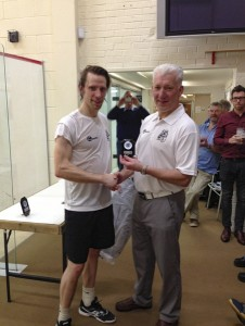 Men's runner up - Howard Lancashire