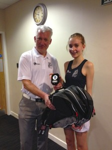 Ladies runner up – Lucy Green