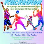 Rackethon at Edgbaston Priory Club – 10th August