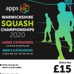 Apps Plus Warwickshire Squash Championships 2020